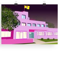 Pink Villa Noailles