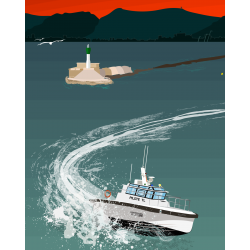 La pilotine du port de Toulon